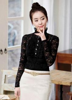 高人气韩式瘦脸丸子头 别致造型时尚又迷人