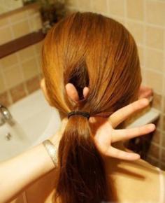 淑女发型扎发步骤简单易学