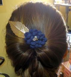 韩式盘发发型扎法 教你情人节打造气质万人迷