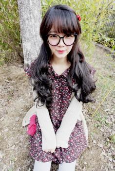 简单韩式发型扎法,各式马尾等你挑