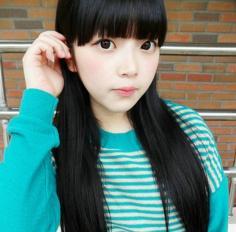 5款韩式修颜刘海发型瘦脸UP