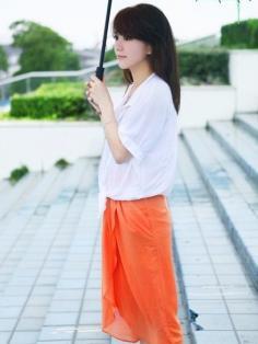 """唯美的韩式长发发型展现""""顶上风情"""""""