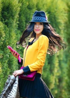 韩式烫发发型:提高回头率必备款