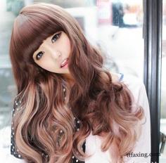 韩式烫发发型图片欣赏 让秀发造型感十足