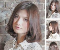 盘点最新荷叶头发型图片 蓬松华丽萌动你心