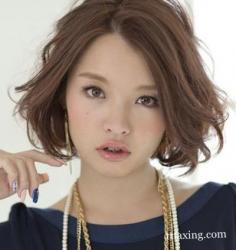 女人短发最新发型造型 小职员变身精明丽人