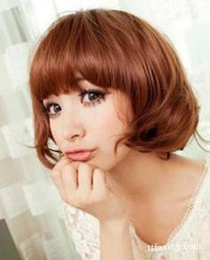 短发发型图片大全 甜美清新萌妹子风格任你选
