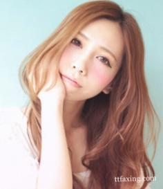 秋冬流行韩式发型图片欣赏 甜美十足