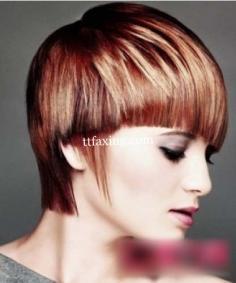 2014潮流沙宣头发型图片 引领立体时尚新潮