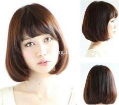 2014波波头发型图片 为你打造夏日浪漫