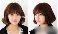 韩式短发烫发发型图片推荐 这样的OL发型值得你拥有