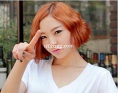 韩式中分短发卷发 瞬间教你变成气质女郎