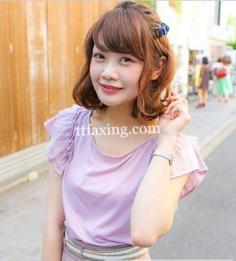 日本街拍图片 清新俏皮发型撩动你的春心