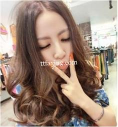 韩式中长发烫发图片分享 教你成为时尚女王