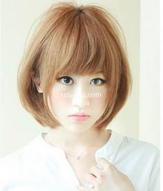 6款波波头发型图片 教你做小脸女人
