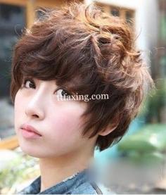 韩式短发烫发发型图片分享 尽显乖巧可爱风