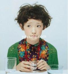 时尚短发发型图片 打造韩国心机女孩