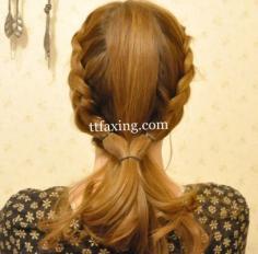 精选韩式盘发发型扎法步骤 让你拥有浪漫约会发型