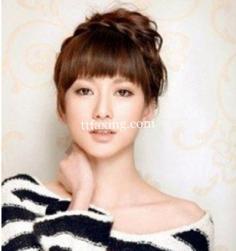 解析道姑头韩式发型扎法 麻花辫搭配夏季混合风