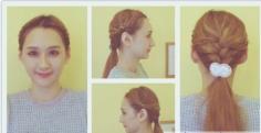 简单柔美发型编发步骤 轻松搞定潮流范儿