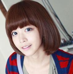 清纯可爱的短发发型 就要个性小清新
