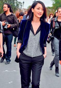 2014魅力学院风女生发型趋势 时尚英伦范气质彰显大气