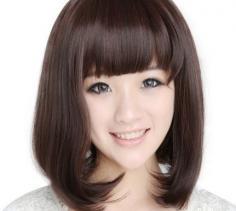 清纯学生发型推荐 双马尾齐刘海是王道