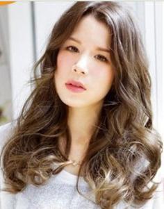 2014韩式烫发发型图片 最新最甜美韩式长卷发来袭