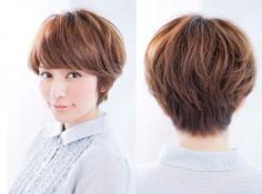 女生短发适合烫什么发型 韩式甜美短发为你诠释