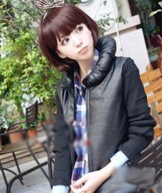 女生蘑菇头发型图片 俏皮活泼你能hold住吗
