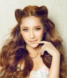 2014韩式扎发发型推荐 打造精致甜美女生