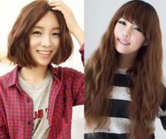 女生中短发烫发发型 2013年继续温柔甜美