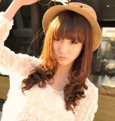 齐刘海梨花头发型 2013人气高企时尚又甜美