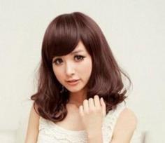 2013流行短卷发发型 打造清新可爱小女人
