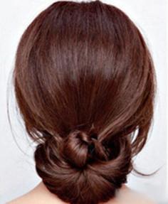 扇形扎发—2013年OL最兴头发扎法步骤