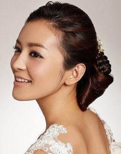 2013最流行的韩式新娘编发图片