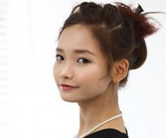 2013流行的韩式盘发优雅时尚气质尽显