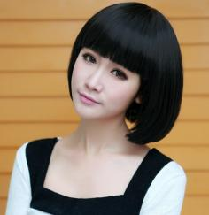 修脸又时尚,2013女生甜美直发发型分享