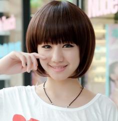 夏季热捧发型—非主流女生短直发发型