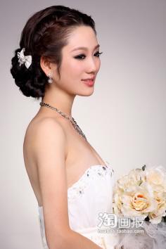 新娘实用编发教程,美丽很简单!