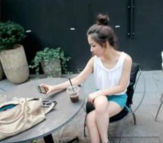 可爱韩式包包头 发型+美甲diy详细图解