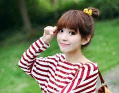 非主流可爱发型扎法 卖萌时代少女可爱发型设计