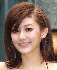 刘海编发是2012今年最流行的时尚与趋势