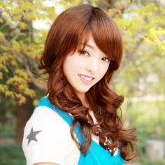 刘海发型设计 斜刘海发型图片