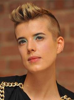 个性十足的莫西干发型  时尚女人的最爱