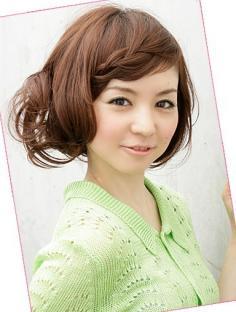 自然风格系流行发型 浪漫清纯感淑女发型