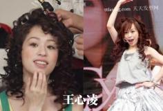 女星造型惊艳雷人失败发型时尚发型女