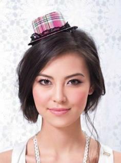 甜美减龄帽子发型DIY 方脸型适合的刘海让人狂晕