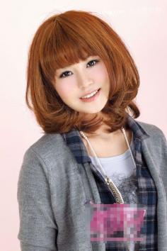 万种风情卷 韩系女生2012年流行发型女