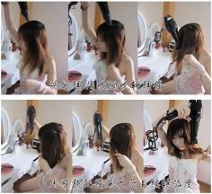 淑女发型灯笼辫 2012年流行发型